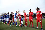 Rochdale v Charlton Athletic - 18 Feb 2017