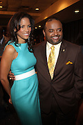 14 April 2010- New York, NY- l to r: Veronica Webb and Roland Martin at the Executive Director's Reception hosted by Veronica Webb and Andre Harrell and held at The Central Park East Ballroom, Sheraton New York Hotel on April 14, 2010 in New York City.