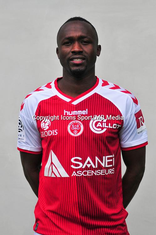 Bocundji Ca - 21.10.2014 - Photo officielle Reims - Ligue 1 2014/2015<br /> Photo : Philippe Le Brech / Icon Sport