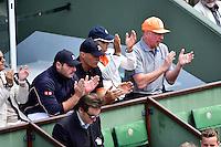 Boris BECKER - 30.05.2015 - Jour 7 - Roland Garros 2015 <br />Photo : Dave Winter / Icon Sport