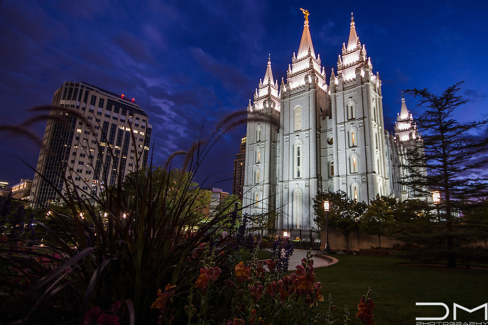 LDS Temple in Salt Lake City.