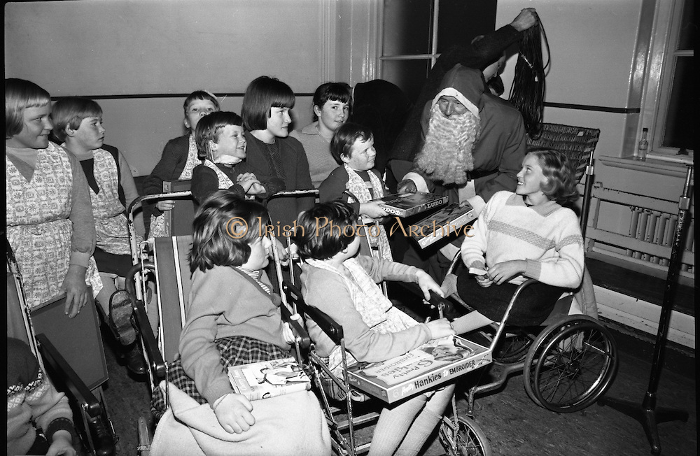 Prescott's Party for Children at St. Mary's Hospital, Baldoyle..16.12.1964