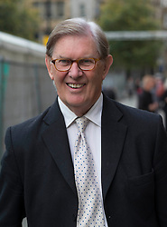 MP Bill Cash arrives for the conference at Manchester Central during the Conservative Party Conference Manchester, United Kingdom, Monday, 30 September 2013. Picture by i-Images