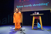 Nederland Amsterdam 2 mei 2015<br /> Hans Teeuwen.<br /> Foto: Jan Boeve