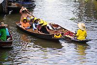 Floating Market, Damnoen Saduak, Thailand -60 mikes southwest of Bangkok