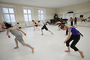 Universities in Vienna, Austria..Konservatorium Wien Privatuniversität..Modern dance class.