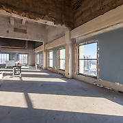 Inside downtown Kansas City's Power & Light Building as the historic skyscraper is renovated into residential apartments.