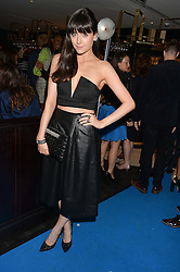 LILAH PARSONS at the Maybelline New York: Party, part of the London Fashion Week Spring Summer 15 held at Tredwell's, 4a Upper St Martins Lane, London on 12th September 2014.