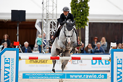 LEPREVOST Penelope (FRA), GFE Excalibur de la tour vidal<br /> Hagen - Horses and Dreams meets the Royal Kingdom of Jordan 2018<br /> Finale Mittlere Tour<br /> 29. April 2018<br /> www.sportfotos-lafrentz.de/Stefan Lafrentz