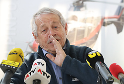 02.04.2019, Innsbruck, AUT, Alpinunfälle beim Wintersport, Pressekonferenz, Landespolizeidirektion Tirol, Österreichisches Kuratorium für Alpine Sicherheit, Bergrettung Tirol, im Bild Karl Gabl (Präsident Kuratorium für Alpine Sicherheit) // during a press conference of the Provincial Police Tirol, Austrian Board of Trustees for Alpine Safety, Mountain Rescue Tirol on the report - winter 2018/19 - Alpine accidents in winter sports in Innsbruck, Austria on 2019/04/02. EXPA Pictures © 2019, PhotoCredit: EXPA/ Johann Groder