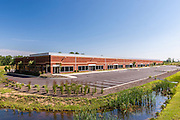 Baltimore Office building exterior image of BWI Technology Park 2 by Jeffrey Sauers of Commercial Photographics, Architectural Photo Artistry in Washington DC, Virginia to Florida and PA to New England