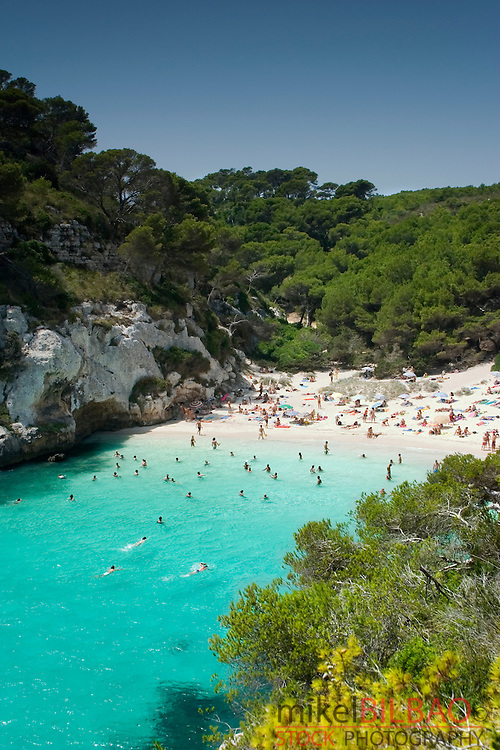 Macarelleta Cove. <br />
