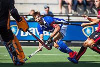 EINDHOVEN - Sander de Wijn (Kampong) tijdens de hoofdklasse hockey competitiewedstrijd heren , Oranje Rood -Kampong (1-3) . COPYRIGHT  KOEN SUYK