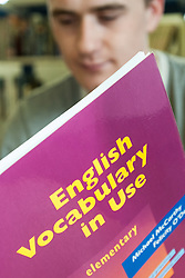 Prisoner learns basic English, UK prison