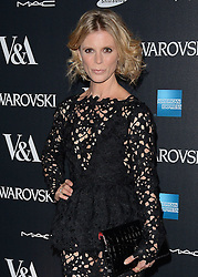 Emilia Fox attends The Alexander McQueen: Savage Beauty VIP private view at The Victoria and Albert Museum, Cromwell Road, London on Saturday 14 March 2015