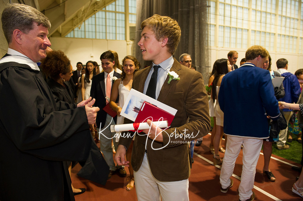 St Paul's Graduation Day.  ©2016 Karen Bobotas Photographer