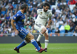 December 6, 2018 - Madrid, Madrid, Spain - Isco of Real Madrid in action during the King Throphy Spanish Championship,  football match between Real Madrid and Melilla on December 06, 2018 at Santiago Bernabeu stadium  in Madrid, Spain. (Credit Image: © AFP7 via ZUMA Wire)