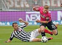 Fotball<br /> Tyskland<br /> Foto: Witters/Digitalsport<br /> NORWAY ONLY<br /> <br /> v.l. Szabolcs Huszti (Frankfurt), Mitchell Weiser<br /> Frankfurt, 24.09.2016, Fussball Bundesliga, Eintracht Frankfurt - Hertha BSC Berlin