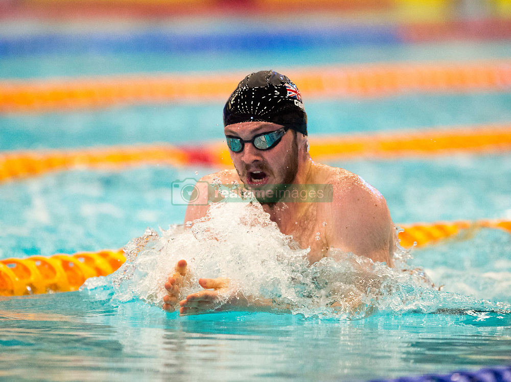 Ross Murdoch swimming in Men's 200m Breaststroke final during day two of the 2018 EISM and British Championships at the Royal Commonwealth Pool, Edinburgh.
