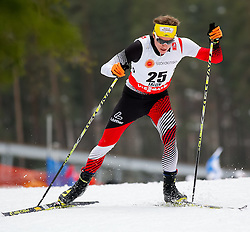 25.02.2015, Lugnet Ski Stadium, Falun, SWE, FIS Weltmeisterschaften Ski Nordisch, Falun 2015, Langlauf, Herren, 15km, im Bild Bernhard Tritscher (AUT) // Bernhard Tritscher of Austria during the Mens 15km Cross Country Race of the FIS Nordic Ski World Championships 2015 at the Lugnet Ski Stadium in Falun, Sweden on 2015/02/25. EXPA Pictures © 2015, PhotoCredit: EXPA/ Minkoff<br /> <br /> *****ATTENTION - OUT of GER*****