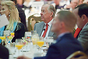11 DECEMBER 2008 -- T. Boone Pickens at breakfast Thursday. Oil magnate and proponent of wind energy T. Boone Pickens spoke at the Biltmore during the Chamber breakfast Thursday. PHOTO BY JACK KURTZ