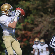 Salesianum Wide Receiver Jeremy Ryan (5) catches pass for a touchdown Saturday, Oct. 17, 2015 at Concord Stadium in Wilmington.