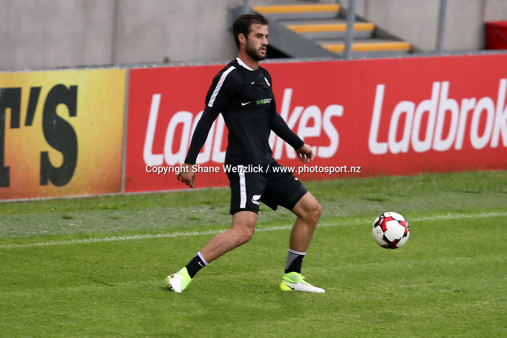 Thomas Doyle. All Whites training, Windsor Park, Belfast, Northern Ireland, Monday 29th May 2017. Photo: Shane Wenzlick / www.photosport.nz