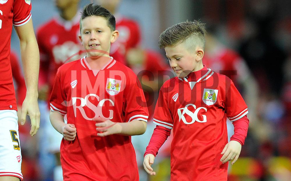Mascots  - Mandatory byline: Dougie Allward/JMP - 07966 386802 - 19/12/2015 - FOOTBALL - Ashton Gate - Bristol, England - Bristol City v QPR - Sky Bet Championship
