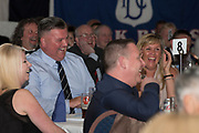 Fans laughs during Alan Rough's spot at Dundee FC hall of fame dinner at Invercarse Hotel, Dundee, Photo: David Young<br /> <br />  - &copy; David Young - www.davidyoungphoto.co.uk - email: davidyoungphoto@gmail.com