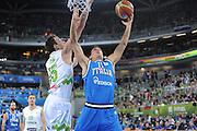 LUBIANA EUROBASKET 2013 12 SETTEMBRE 2013<br /> NAZIONALE ITALIANA MASCHILE<br /> SLOVENIA VS ITALIA<br /> NELLA FOTO: ANDRE CINCIARINI<br /> FOTO CIAMILLO