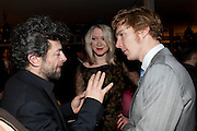 Andy Serkis; Siobhan Hewlett; Benedict Cumberbatch, InStyle's Best Of British Talent Party in association with Lancome. Shoreditch HouseLondon. 25 January 2011, -DO NOT ARCHIVE-© Copyright Photograph by Dafydd Jones. 248 Clapham Rd. London SW9 0PZ. Tel 0207 820 0771. www.dafjones.com.