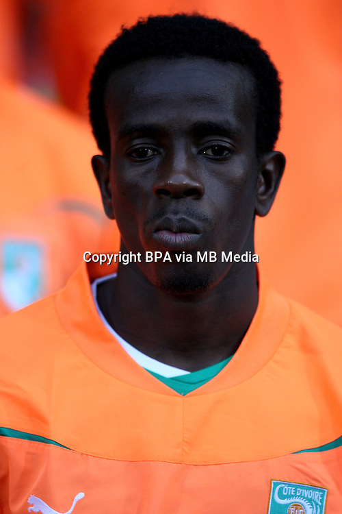 Football Fifa Brazil 2014 World Cup / <br /> Ivory Coast National Team - <br /> Emmanuel Kouanatien Kone of Ivory Coast