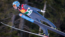 14.12.2013, Nordische Arena, Ramsau, AUT, FIS Nordische Kombination Weltcup, Skisprung, Wettkampfdurchgang, im Bild Wilhelm Denifl (AUT) // Wilhelm Denifl (AUT) during Ski Jumping of FIS Nordic Combined World Cup, at the Nordic Arena in Ramsau, Austria on 2013/12/14. EXPA Pictures © 2013, EXPA/ JFK
