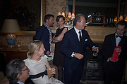 SYDNEY AND CHARLES FINCH, Pre Bafta dinner hosted by Charles Finch and Chanel. Mark's Club. Charles St. London. 9 February 2008.  *** Local Caption *** -DO NOT ARCHIVE-© Copyright Photograph by Dafydd Jones. 248 Clapham Rd. London SW9 0PZ. Tel 0207 820 0771. www.dafjones.com.