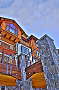 USA, Idaho, Valley County, Donnelly, Tamarack Lodge,  The Lodge at Osprey Meadows,