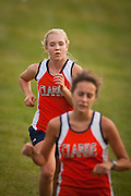 MCHS Girls Cross Country.vs Clarke, Strasburg, and George Mason.9/24/2008
