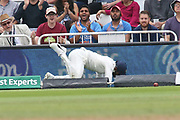 Four runs despite the valiant effort during the 3rd International Test Match 2018 match between England and India at Trent Bridge, West Bridgford, United Kingdon on 21 August 2018.