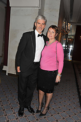 DAMON & GEORGIE HILL at the Dyslexia Action Awards Dinner at The Savoy Hotel, London on 29th November 2012.