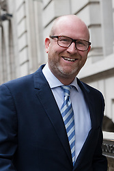 © Licensed to London News Pictures. 08/05/2017. LONDON, UK.  PAUL NUTTALL, UKIP party leader arrives in Westminster to make a policy announcement.  Photo credit: Vickie Flores/LNP