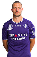Quentin Boisgard during Photoshooting of Toulouse for new season 2017/2018 on September 29, 2017 in Bordeaux, France. <br /> Photo : TFC / Icon Sport