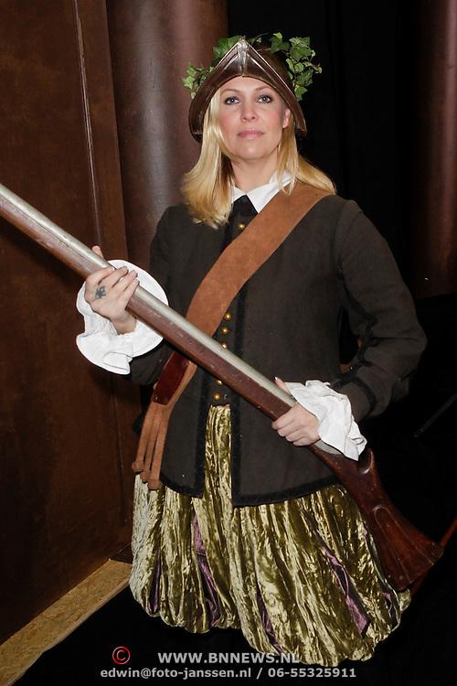 NLD/Amsterdam/20120209 - Bn' ers gefotografeerd als de Nachtwacht voor het Goed Geld Gala 2012, Nance Coolen