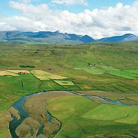 Hörðuból séð til austurs, Dalabyggð áður Miðdalahreppur / Hordubol viewing east, Dalabyggd former Middalahreppur.