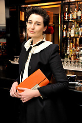 ERIN O'CONNOR at a brunch hosted by Zac Posen to launch the Belvedere Bloody Mary Brunch held at Le Caprice, 25 Arlington Street, London on 7th April 2011.
