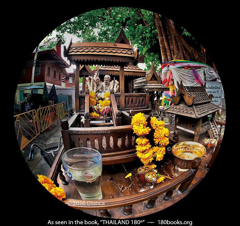 San Ta Yai Spirit House in Bangkok, Thailand