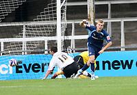 Photo: Mark Stephenson.<br /> Hereford United v Brentford. Coca Cola League 2. 06/10/2007.Brentford's Alan Connell scores ,but its off side