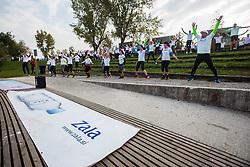 Zalin urbani tek at Priprave na Ljubljanski maraton 2018, on September 29, 2018 in Ljubljana, Slovenia. Photo Credit Grega Valancic