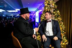 Bristol City manager Lee Johnson is interviewed by Ian Downs as Bristol Sport hosts their annual Gala Dinner at Ashton Gate Stadium - Rogan/JMP - 05/12/2018 - SPORT - Ashton Gate Stadium - Bristol, England - Bristol Sport Gala Dinner 2018.