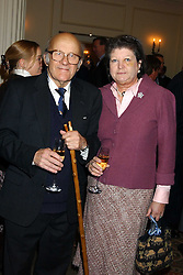 LORD & LADY  OAKSEY at The Sir Peter O'Sullevan Charitable Trust Lunch at The Savoy, London on 23rd November 2005.<br />