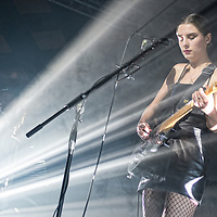 Wolf Alice in concert at The Barrowland Ballroom, Glasgow, Scotland, Britain 11th November 2017