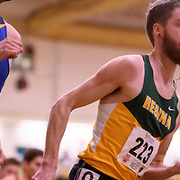 Alexander Eiswerth in action during the 2018 Canada West Track & Field Championship on February  23 at James Daly Fieldhouse. Credit: Arthur Ward/Arthur Images